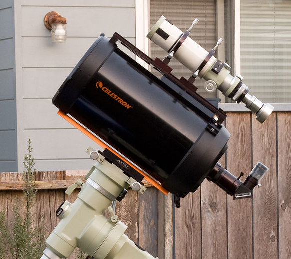 Equipment Astrophotography In Urban Environment